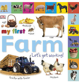 DK Tabbed Board Books: My First Farm