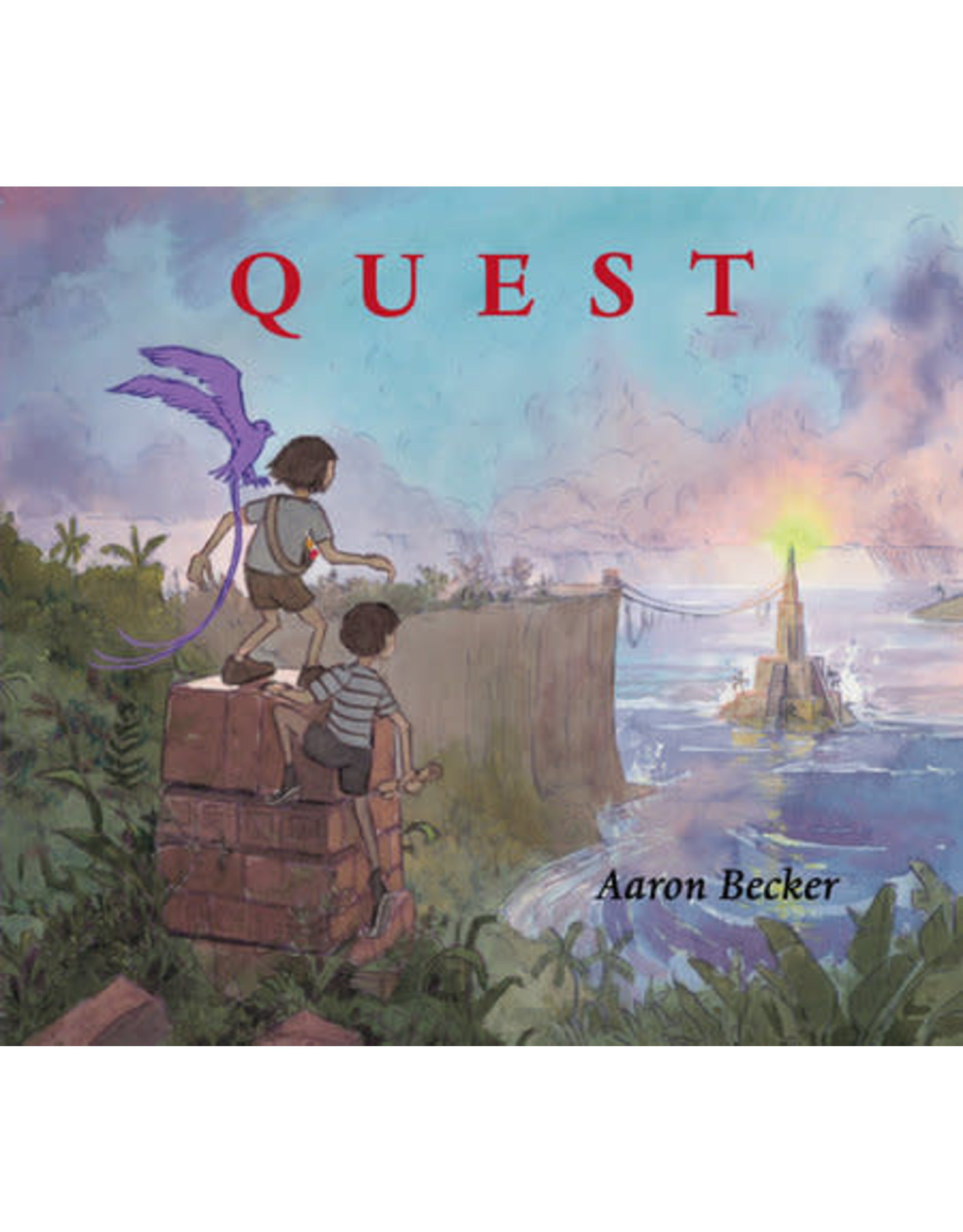 Candlewick Quest by Aaron Becker