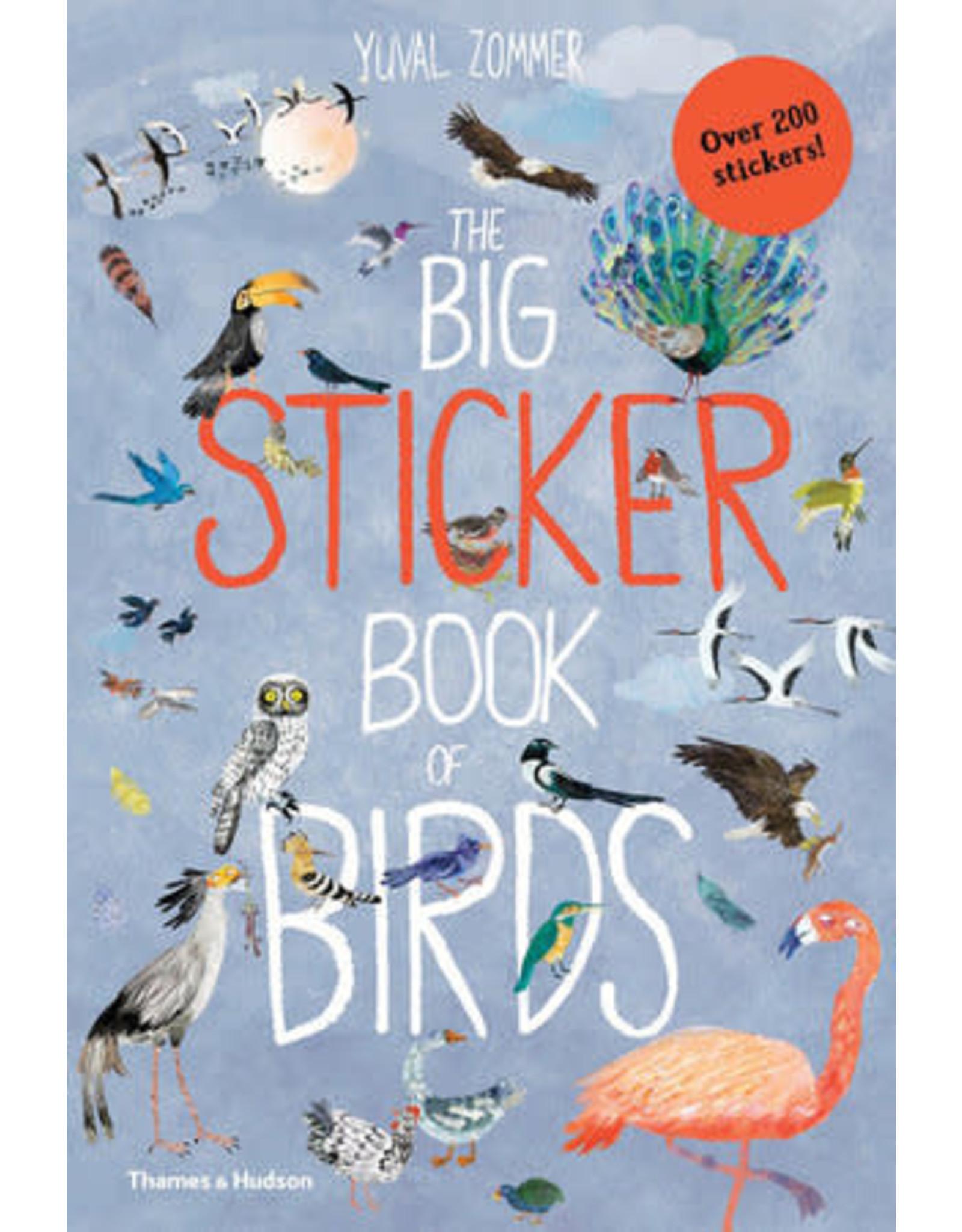 Thames & Hudson The Big Sticker Book of Birds