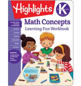 Highlights Kindergarten Math Concepts Workbook