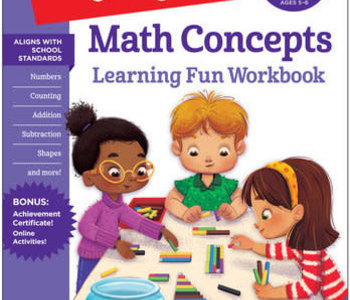 Kindergarten Math Concepts Workbook
