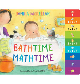 Crown Books Bathtime Mathtime Board Book