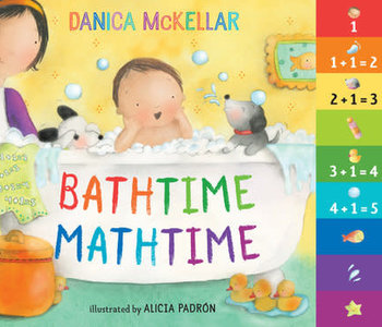Bathtime Mathtime Board Book