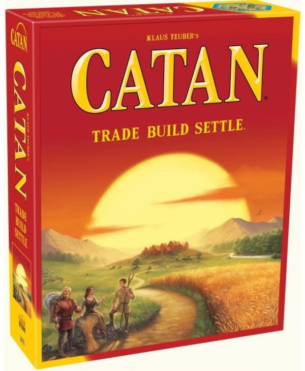 Settlers of Catan Main Game