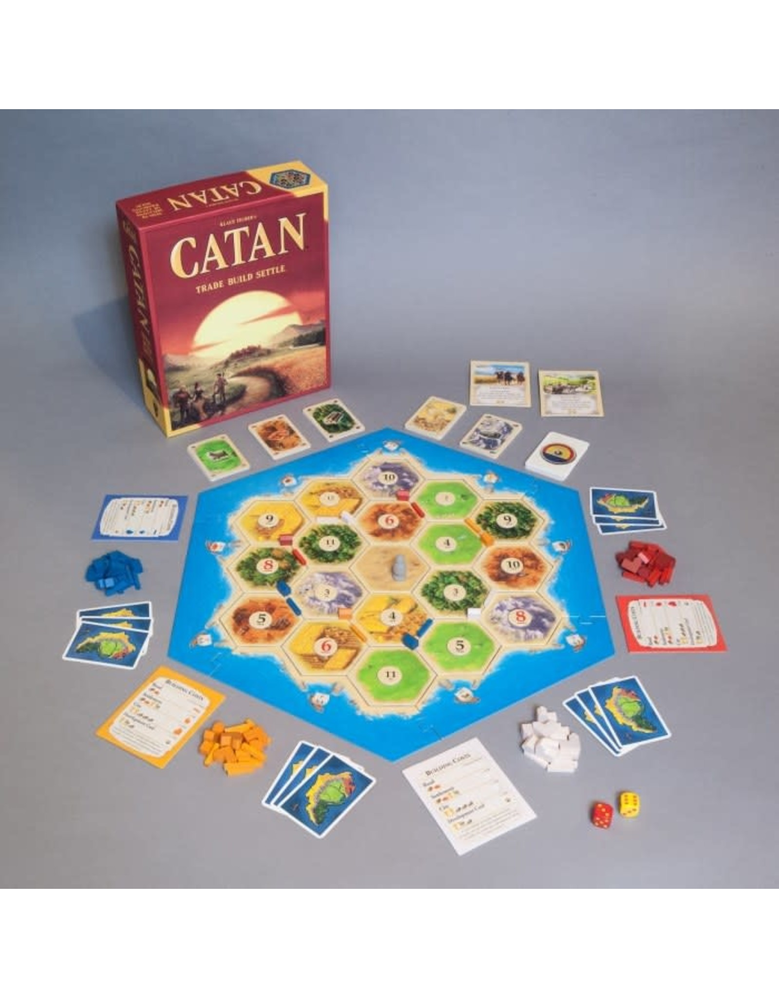 CATAN Settlers of Catan Main Game