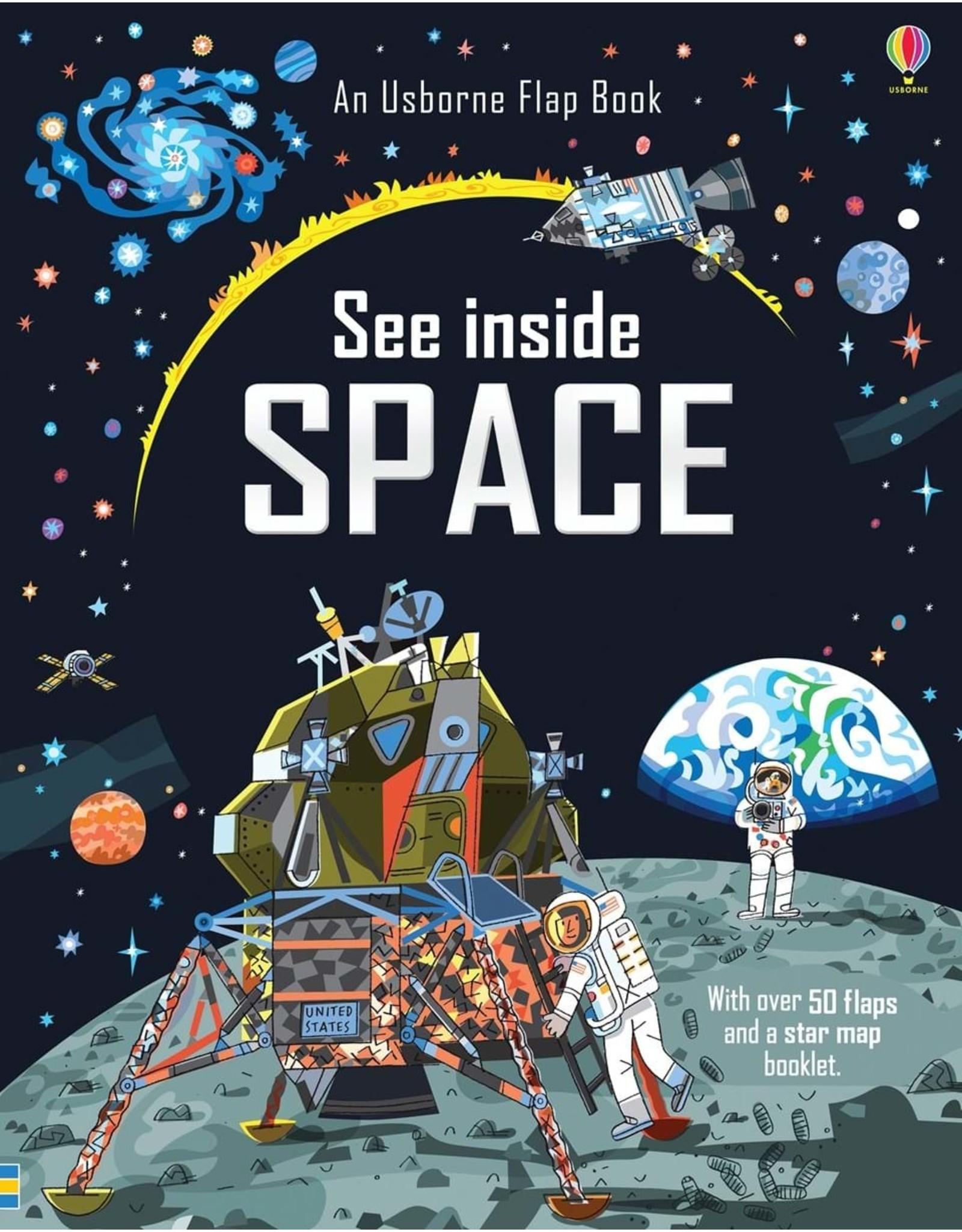 Usborne See Inside Space Book