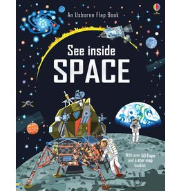 Usborne See Inside Space Book