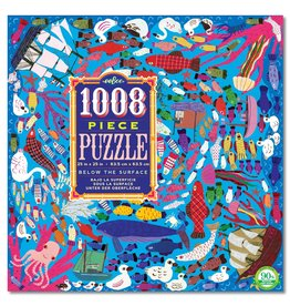 eeBoo Below the Surface 1008pc Puzzle