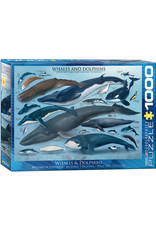 Eurographics Whales & Dolphins 1000pc Puzzle