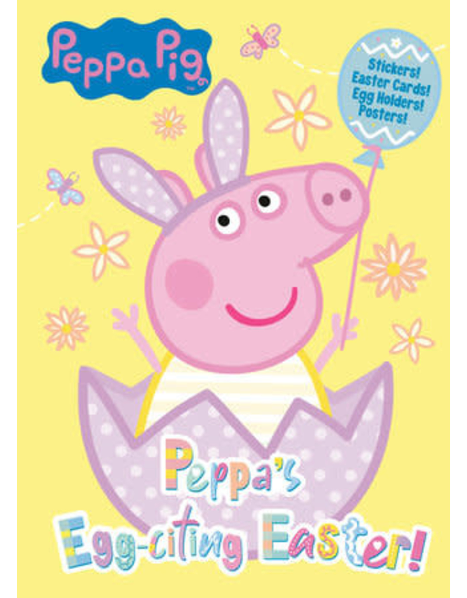 Golden Peppa's Egg-citing Easter! Activity Book