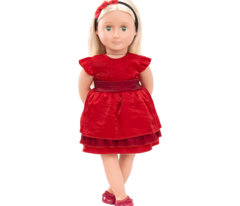 """Our Generation 18"""" Deluxe Doll Ginger"""