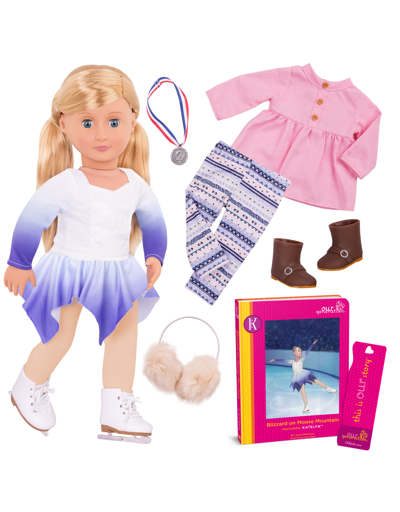 """Our Generation Our Generation 18"""" Deluxe Doll Katelyn"""
