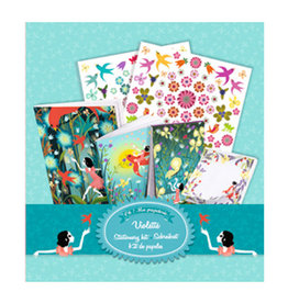 Djeco My Stationery Kit Violette
