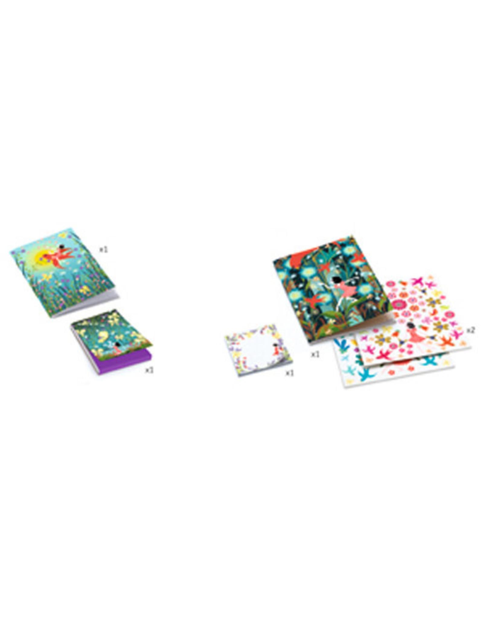 Djeco My Stationery Kit Violette