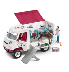 Schleich® Schleich Mobile Vet with Hanoverian foal