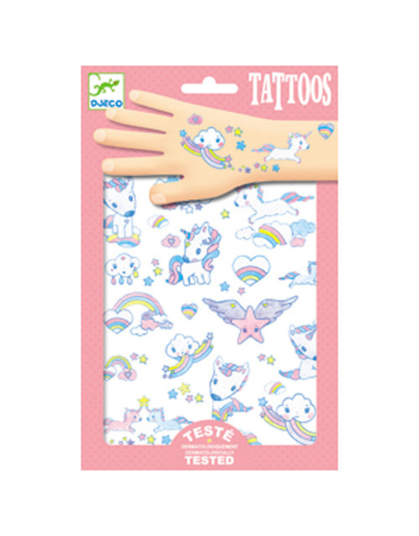 Djeco Unicorns Tattoos