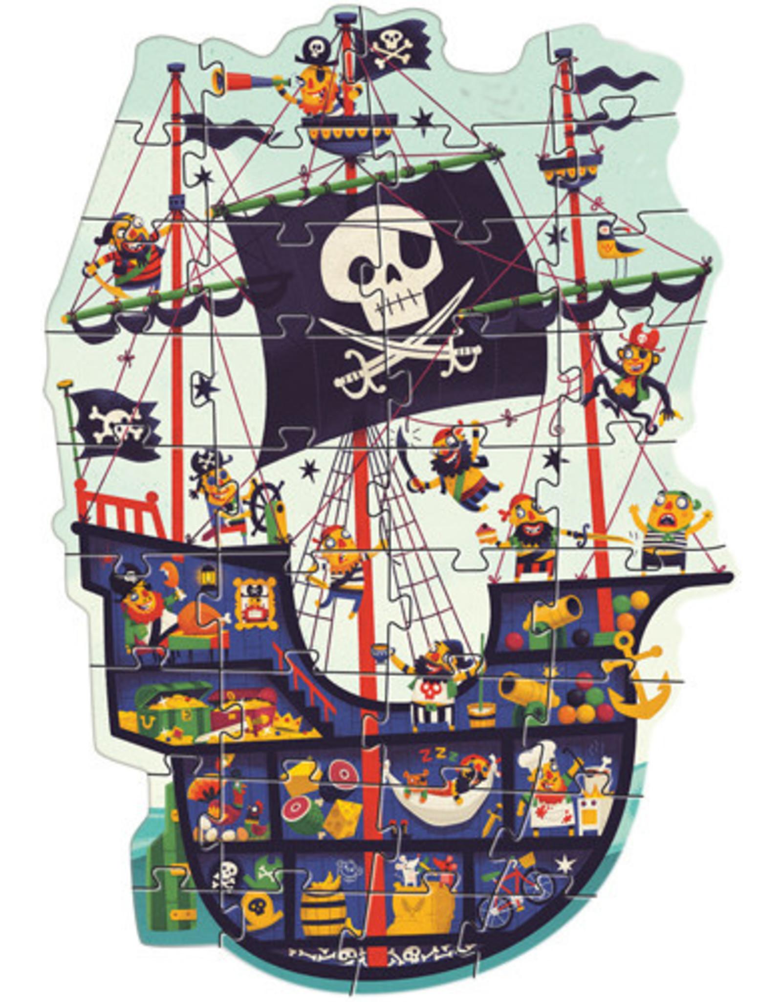 Djeco The Pirate Ship 36pc Puzzle