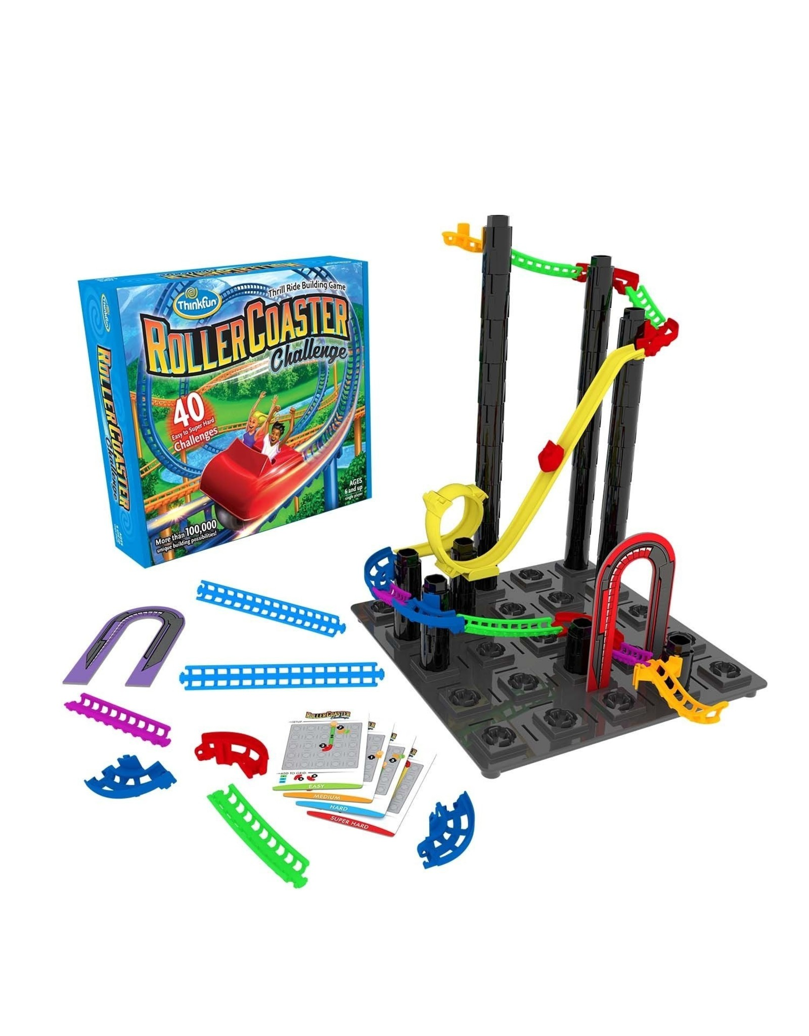 Think Fun Roller Coaster Challenge Game