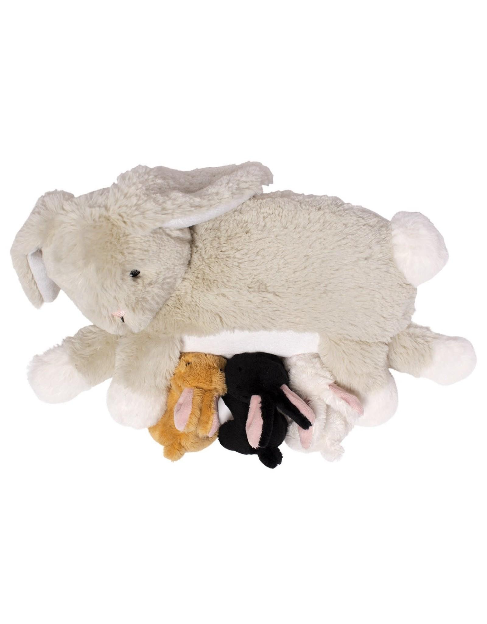 Manhattan Toy Nursing Nola Rabbit Plush