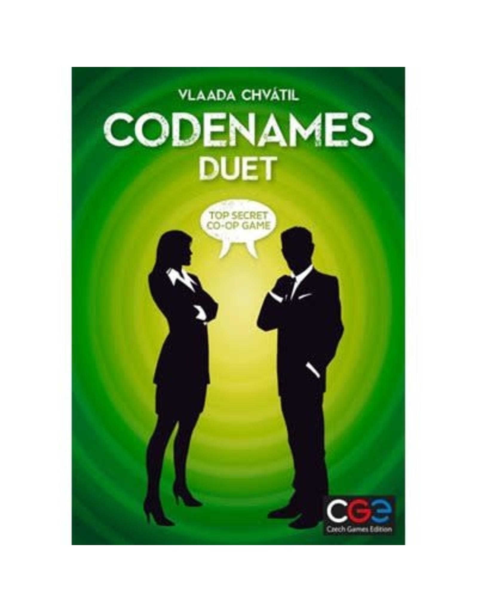 CGE Codenames Duet Game