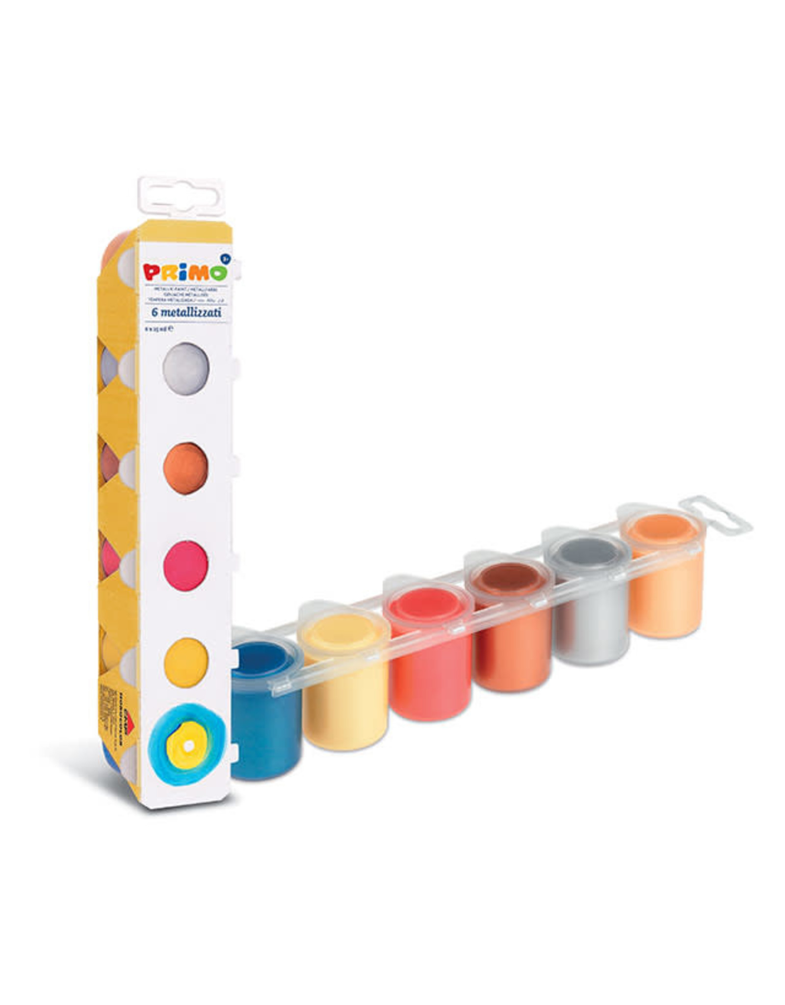 Primo Primo Metallic Paint Set of 6