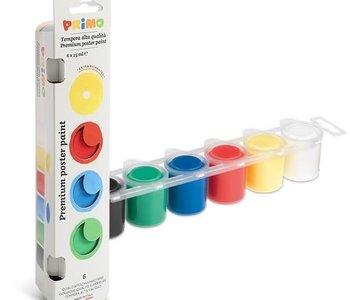 Primo Poster Paint Set of 6