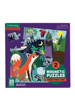 Mudpuppy Forest Night & Day Magnetic 20pc Puzzle