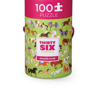36 Horses 100pc Puzzle