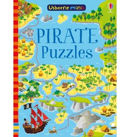 Usborne Pirate Puzzles Book