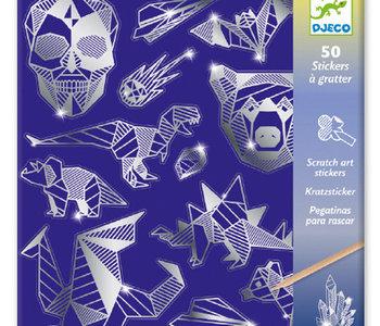 Iron Metallic Scratch Cards