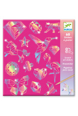 Djeco Diamond Metallic Scratch Cards