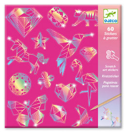 Djeco Diamond Metallic Scratch Cards