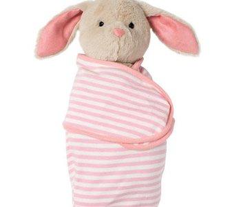 Swaddle Baby Bunny Plush