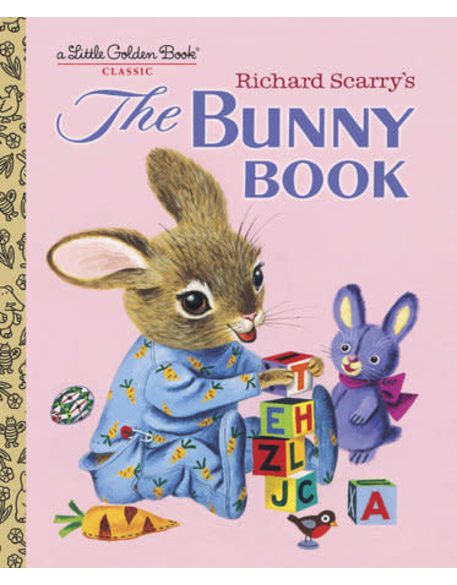 Golden Richard Scarry's The Bunny Book
