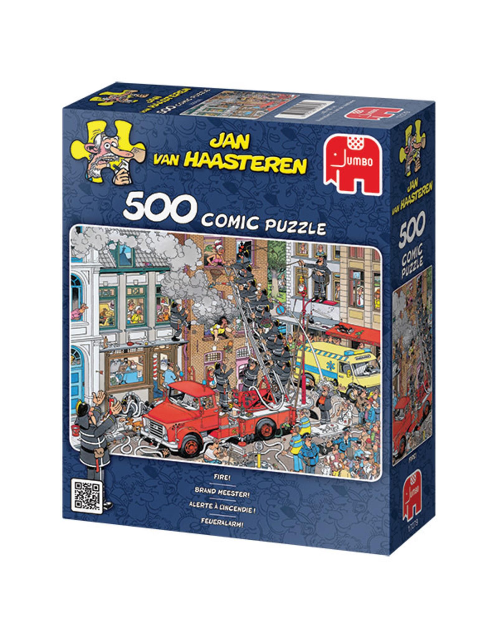Jumbo Jan van Haasteren Fire Marshall 500pc Puzzle