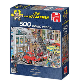 Jumbo Jan van Haasteren Fire Marshall 500pc Puzzle