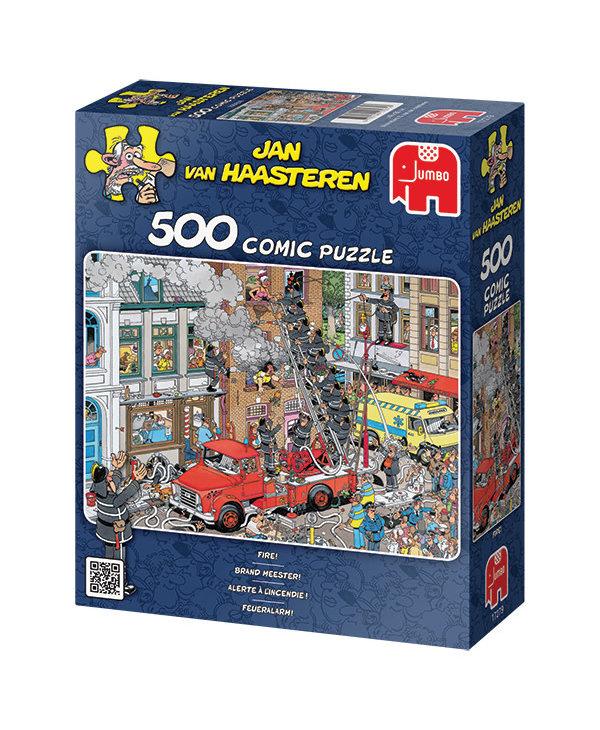 Jan van Haasteren Fire Marshall 500pc Puzzle