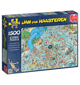 Jumbo Jan van Haasteren Wacky Water World 1500pc Puzzle