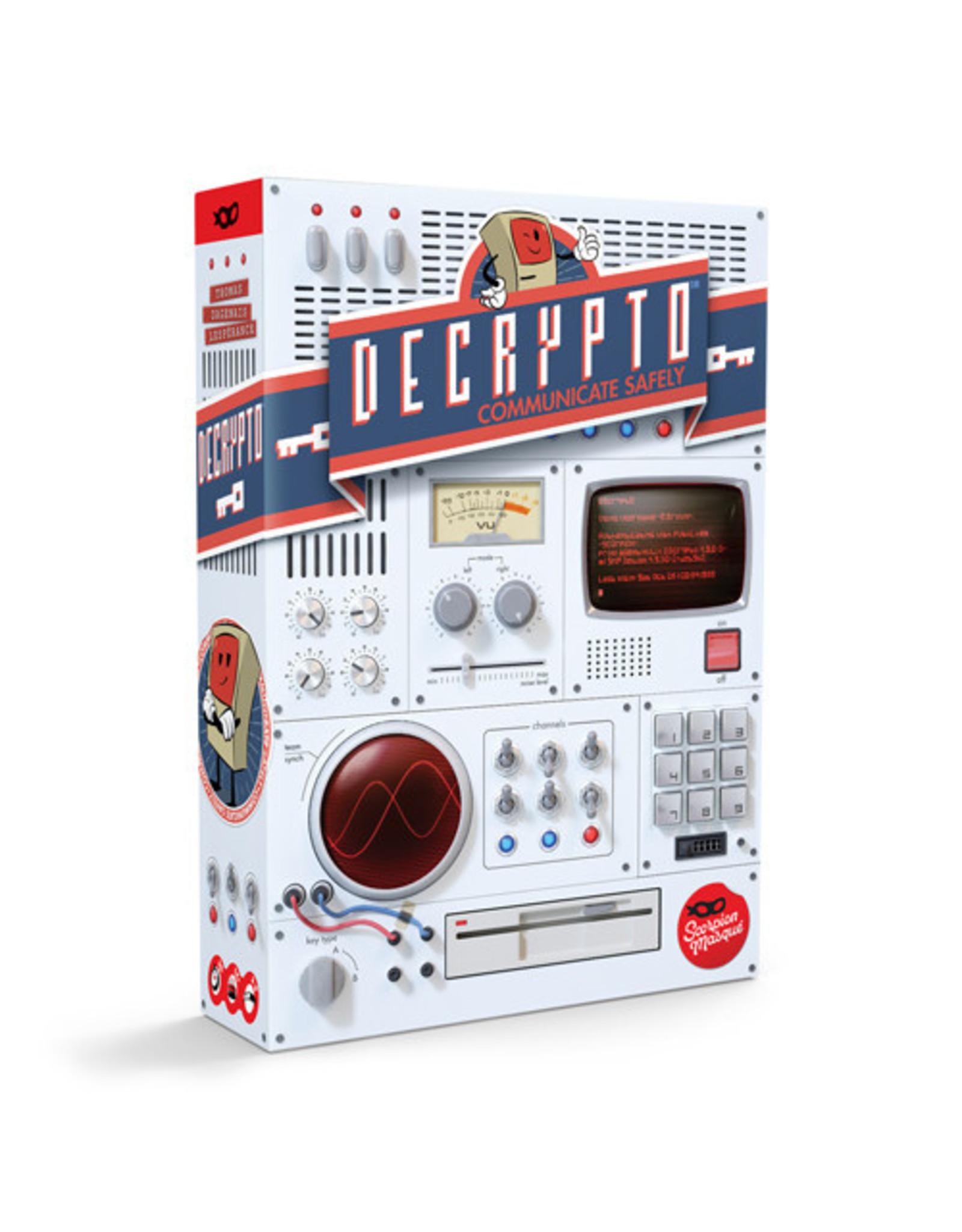 Scorpion Masque Decrypto Game