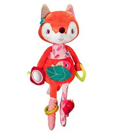 Lilliputiens Alice Fox Activity Cuddle Toy