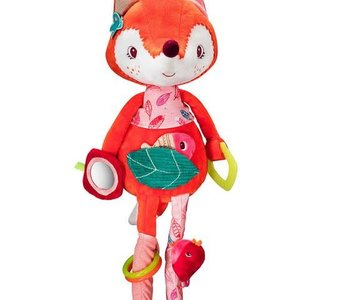Alice Fox Activity Cuddle Toy