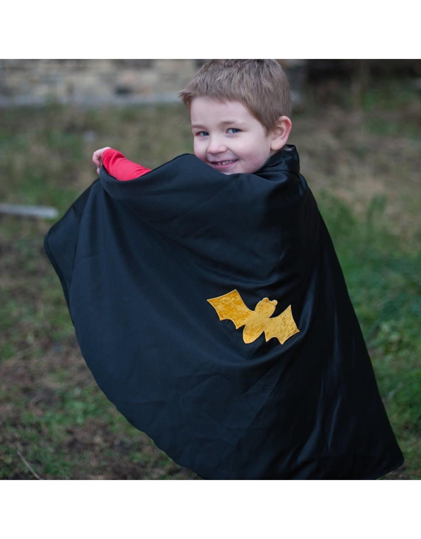 Great Pretenders Reversible Spider Bat Cape & Mask size 3-4