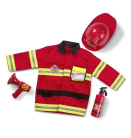 Melissa & Doug Fire Chief Costume ages 3-6