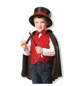 Melissa & Doug Magician Costume ages 3-6