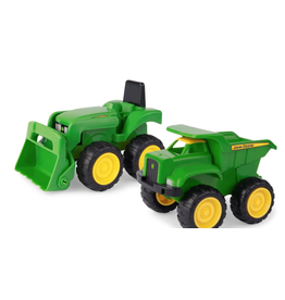 "Ertl 6"" John Deere Sandbox Vehicle 2pk"