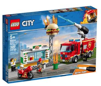 LEGO® City Burger Bar Fire Rescue