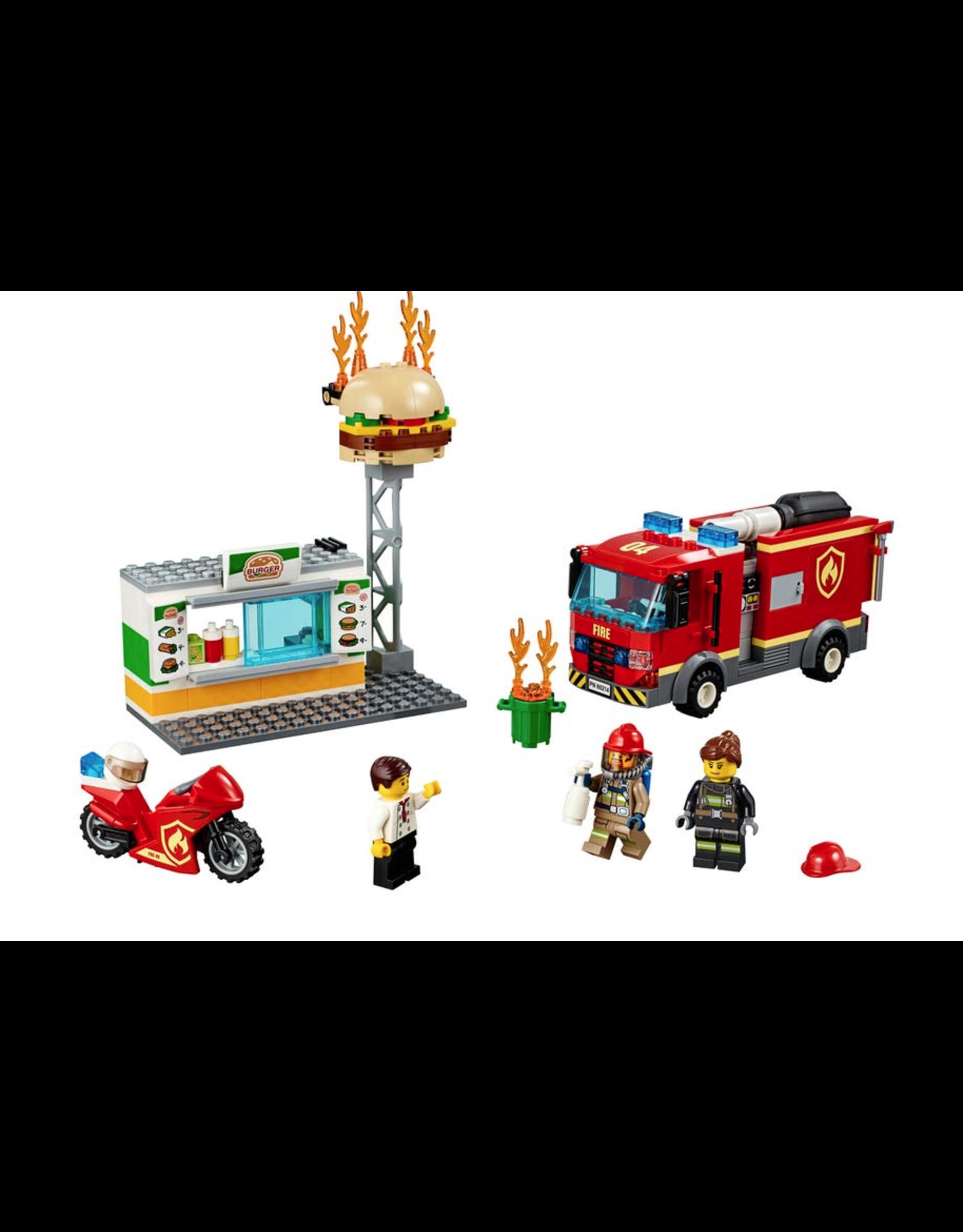 LEGO® LEGO® City Burger Bar Fire Rescue