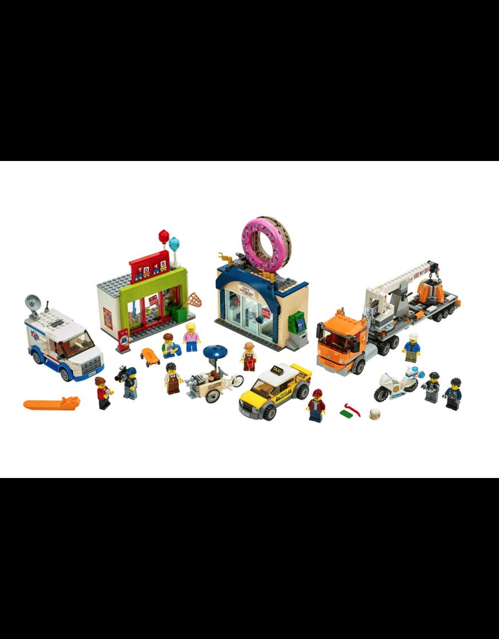 LEGO® LEGO® City Donut Shop Opening