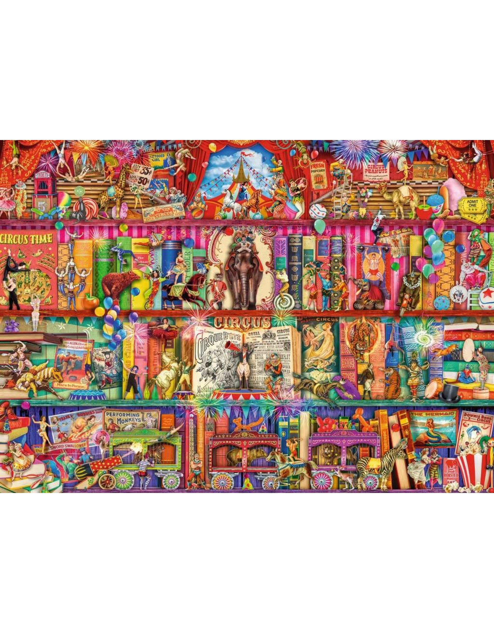 Ravensburger The Greatest Show on Earth 1000pc Puzzle