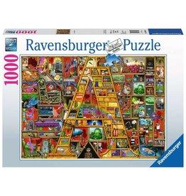 "Ravensburger Awesome Alphabet ""A"" 1000pc Puzzle"